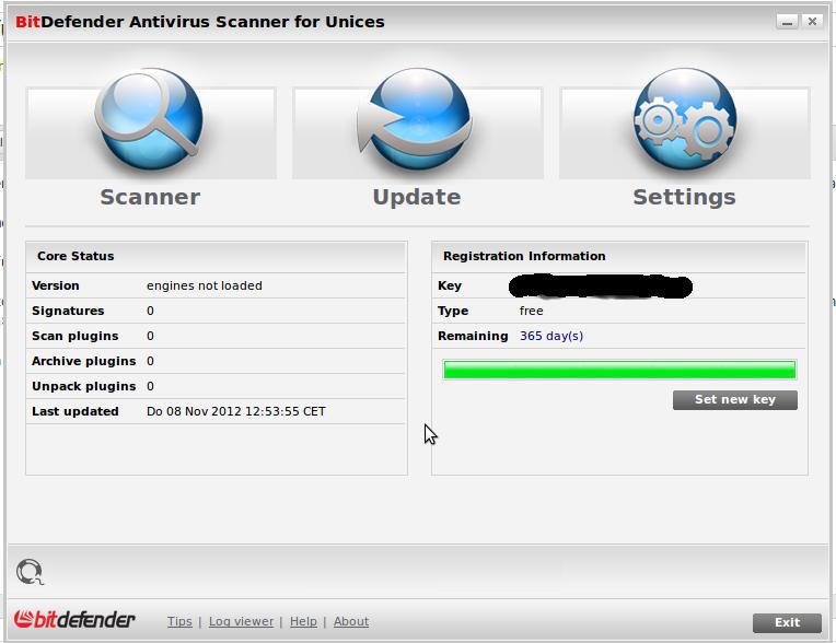 Linux Virenscanner